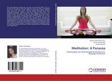Buchcover von Meditation: A Panacea