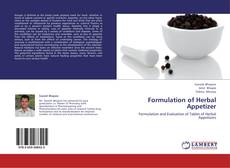 Bookcover of Formulation of Herbal Appetizer