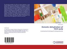 Bookcover of Osmotic dehydration of litchi pulp