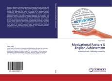 Portada del libro de Motivational Factors & English Achievement