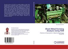 Capa do livro de Sheet Metal Forming Analysis Using FEM