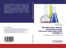Bookcover of Метаболизм гамма-аминомасляной кислоты при действии морфина