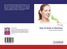Portada del libro de Role of Herbs in Dentistry