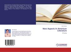 Bookcover of New Aspects In American Literature