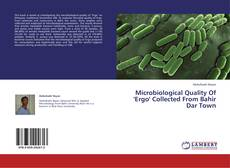 Bookcover of Microbiological Quality Of 'Ergo' Collected From Bahir Dar Town