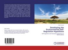 Borítókép a  Developing the Environmental Self-Regulation Hypothesis - hoz