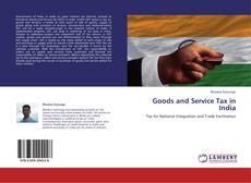 Capa do livro de Goods and Service Tax in India