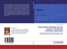 Обложка Fixed point methods for the study of  semilinear evolution equations