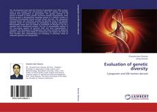 Copertina di Evaluation of genetic diversity