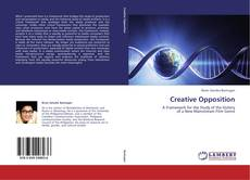 Bookcover of Creative Opposition