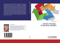 Capa do livro de Teacher Change:   A Narrative Analysis