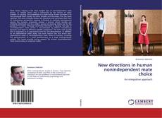 Couverture de New directions in human nonindependent mate choice
