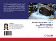 Copertina di Water in the Middle East: A Socioeconomic & Geopolitical Approach