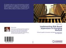 Capa do livro de Implementing Risk Based Supervision in Emerging Markets