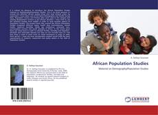 Couverture de African Population Studies