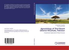 Bookcover of Agrostology of Thal Desert (District Khushab), Pakistan