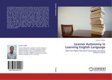 Обложка Learner Autonomy in Learning English Language
