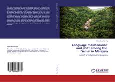 Bookcover of Language maintenance   and shift among the   Semai in Malaysia