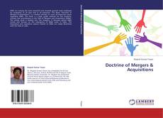 Bookcover of Doctrine of Mergers & Acquisitions