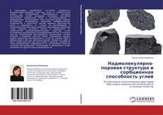 Обложка Надмолекулярно-поровая структура и сорбционная способность углей
