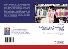 Buchcover von Challenges and Prospects of Geography at Secondary Level