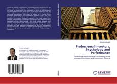 Capa do livro de Professional Investors, Psychology and Performance