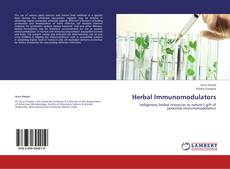 Capa do livro de Herbal Immunomodulators