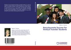 Baccalaureate Success for Vertical Transfer Students kitap kapağı