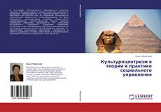 Bookcover of Культуроцентризм в теории и практике социального управления
