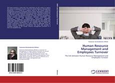 Bookcover of Human Resource Management and Employees Turnover