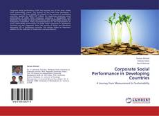Couverture de Corporate Social Performance in Developing Countries