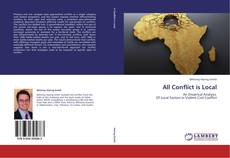 Buchcover von All Conflict is Local