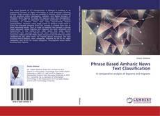 Capa do livro de Phrase Based Amharic News Text Classification