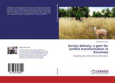 Bookcover of Service delivery: a gem for conflict transformation in Karamoja