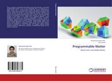 Portada del libro de Programmable Matter