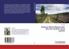 Acequia María Mayancela: the San Andrés canal system kitap kapağı