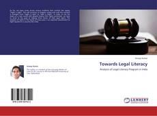 Towards Legal Literacy kitap kapağı