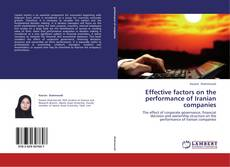 Couverture de Effective factors on the performance of Iranian companies