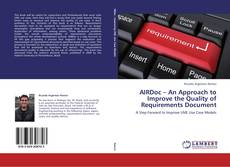 Bookcover of AIRDoc – An Approach to Improve the Quality of Requirements Document