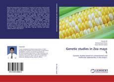 Bookcover of Genetic studies in Zea mays L