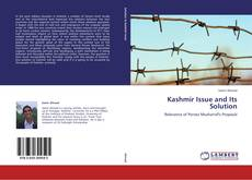 Bookcover of Kashmir Issue and Its Solution