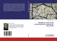 Buchcover von Resilience and social connectedness among at-risk youth