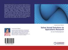 Обложка Solver based Solutions to Operations Research