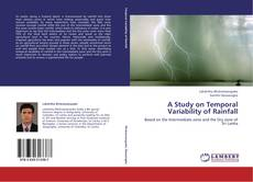 Bookcover of A Study on Temporal Variability of Rainfall