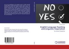 English Language Teaching and Linguistic Imperialism kitap kapağı