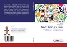 Copertina di Faculty Beliefs and Needs