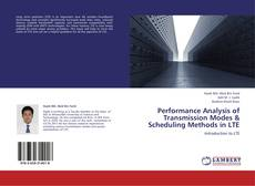 Bookcover of Performance Analysis of Transmission Modes & Scheduling Methods in LTE