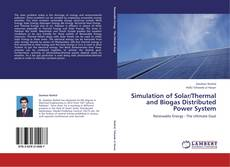 Capa do livro de Simulation of Solar/Thermal and Biogas Distributed Power System