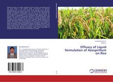 Portada del libro de Efficacy of Liquid formulation of Azospirillum on Rice