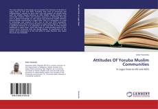 Capa do livro de Attitudes Of Yoruba Muslim Communities